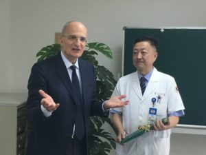 Prof . Amilcare Parisi and Prof. Yanbing Zhou
